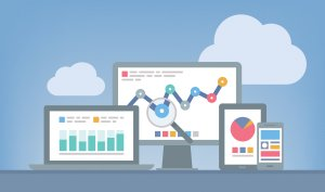 Google Analytics charts and data