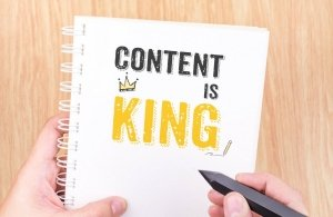 Content Is King on Paper for SEO