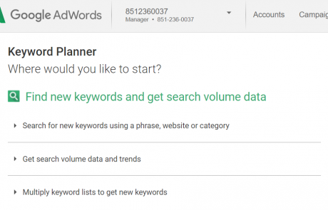 Is Google Keyword Planner a Hint at Semantic Search Terms?