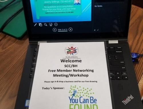 SEO Talk at SCC Berkeley Heights Membership Meeting