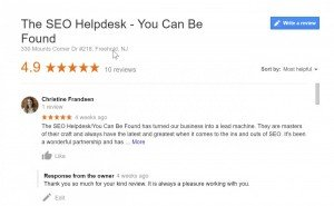 You Can Be Found Online Review Management