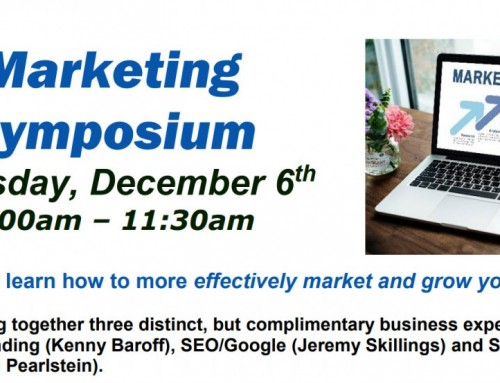 Announcing Comprehensive NJ Marketing Symposium December 6
