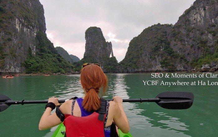 Kayaking Ha Long Bay SEO YCBF Anywhere