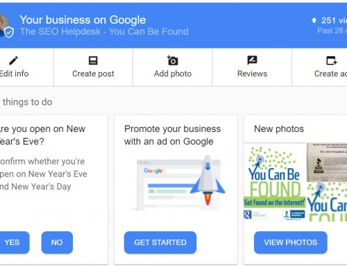 Touring and Updating your Google My Business (GMB) Page