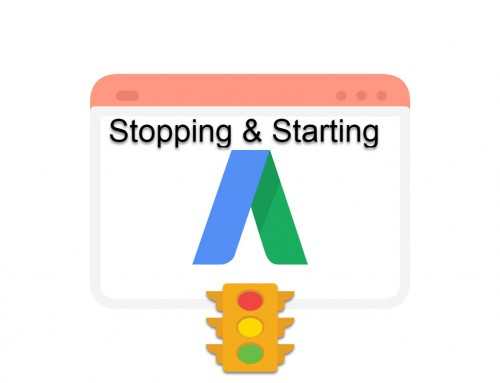 How to Stop or Start Your Google Ads Campaign