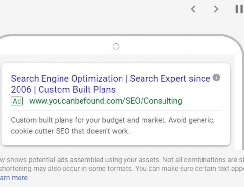Get Your Google Responsive Search Ads Going