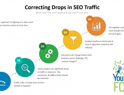 How to Address and Correct Big Drops in SEO Traffic