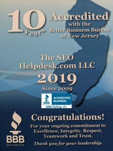 10 years accredited BBB A+