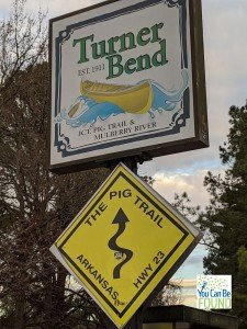 Pig Trail Arkansas Sign YCBF