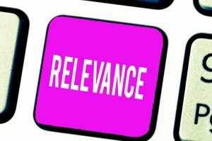 Relevance for SEO