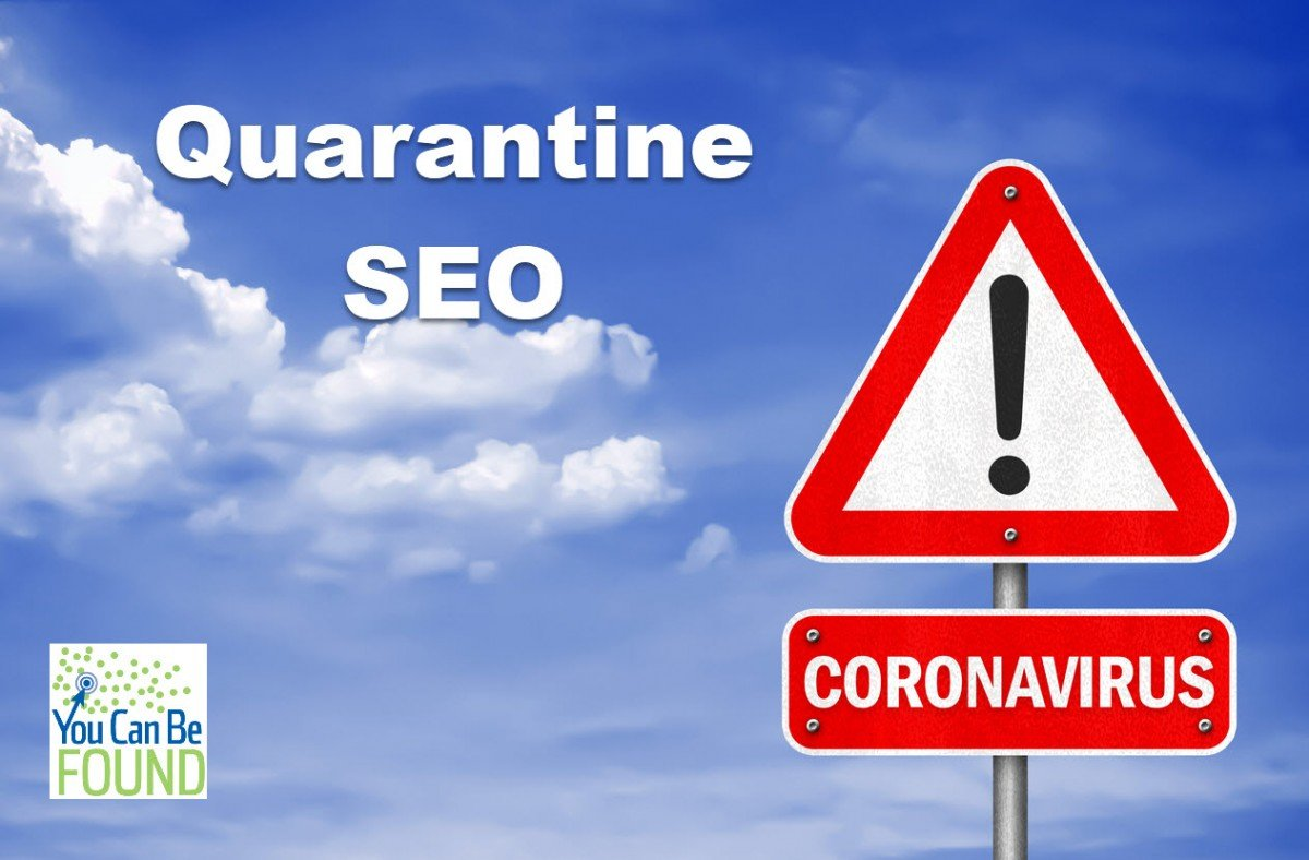 Coronavirus Quarantine SEO Deal and Plan