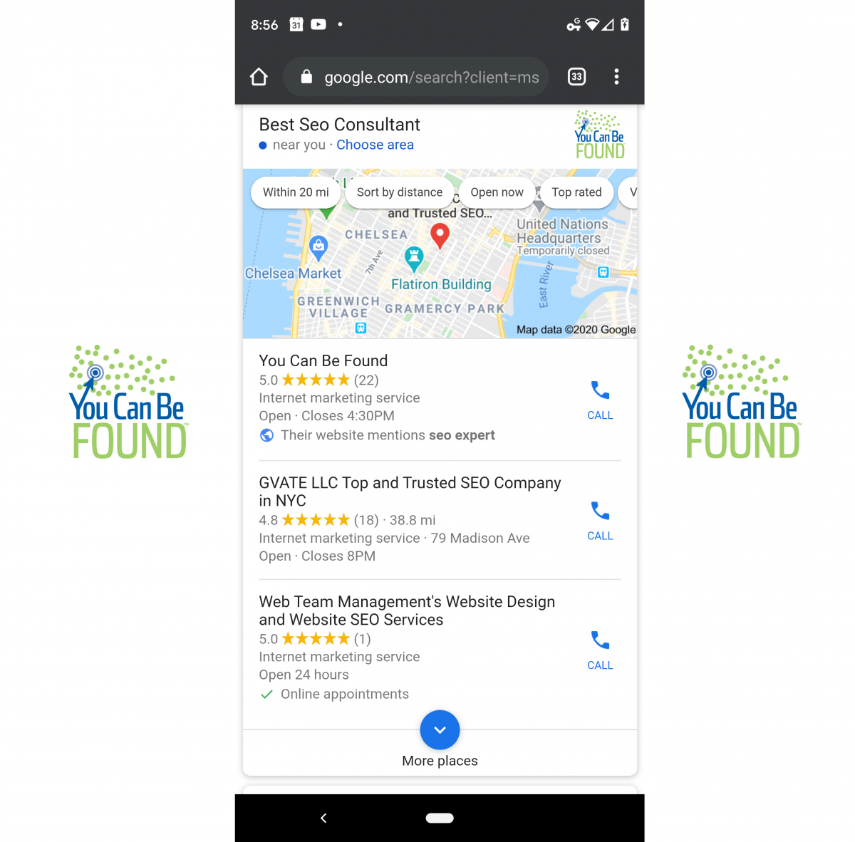 Google My Business: GMB SEO Consultant
