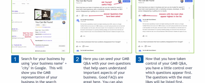 Small Business GMB Question Answers