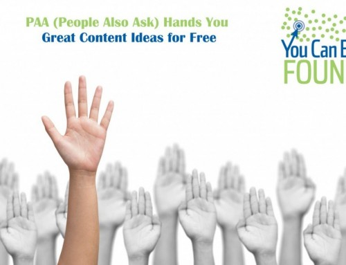 Content Marketing Ideas for SEO: PAA is Free Market Research