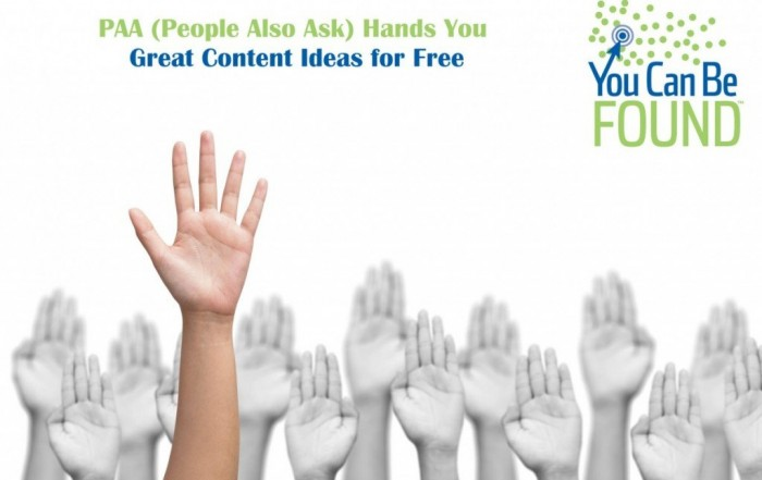PAA People Also Ask Content Marketing