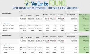 Chiropractor and Physical Therapy SEO Success